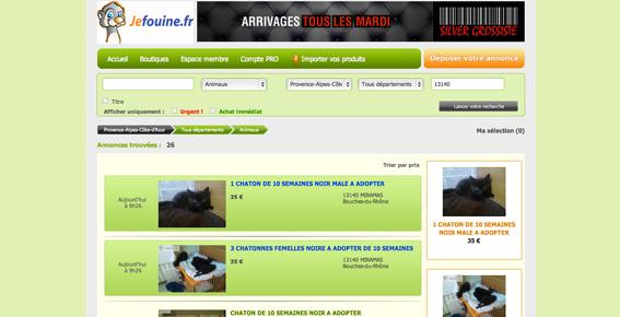 jefouine fr site de petites annonces gratuites association chats miramas. Black Bedroom Furniture Sets. Home Design Ideas